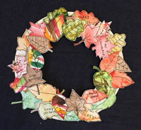 Fall Water Color Wreath